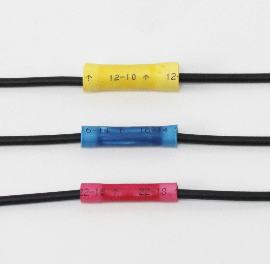 Vinyl Insulated Butt Splice Connectors (22-18) | Nelco Products
