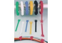 Hook and Loop Velcro® Cable Ties - 25 Yard Roll (0.5 inch width)