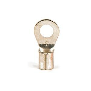 Non-Insulated Brazed Seam Ring Terminals (12-10)