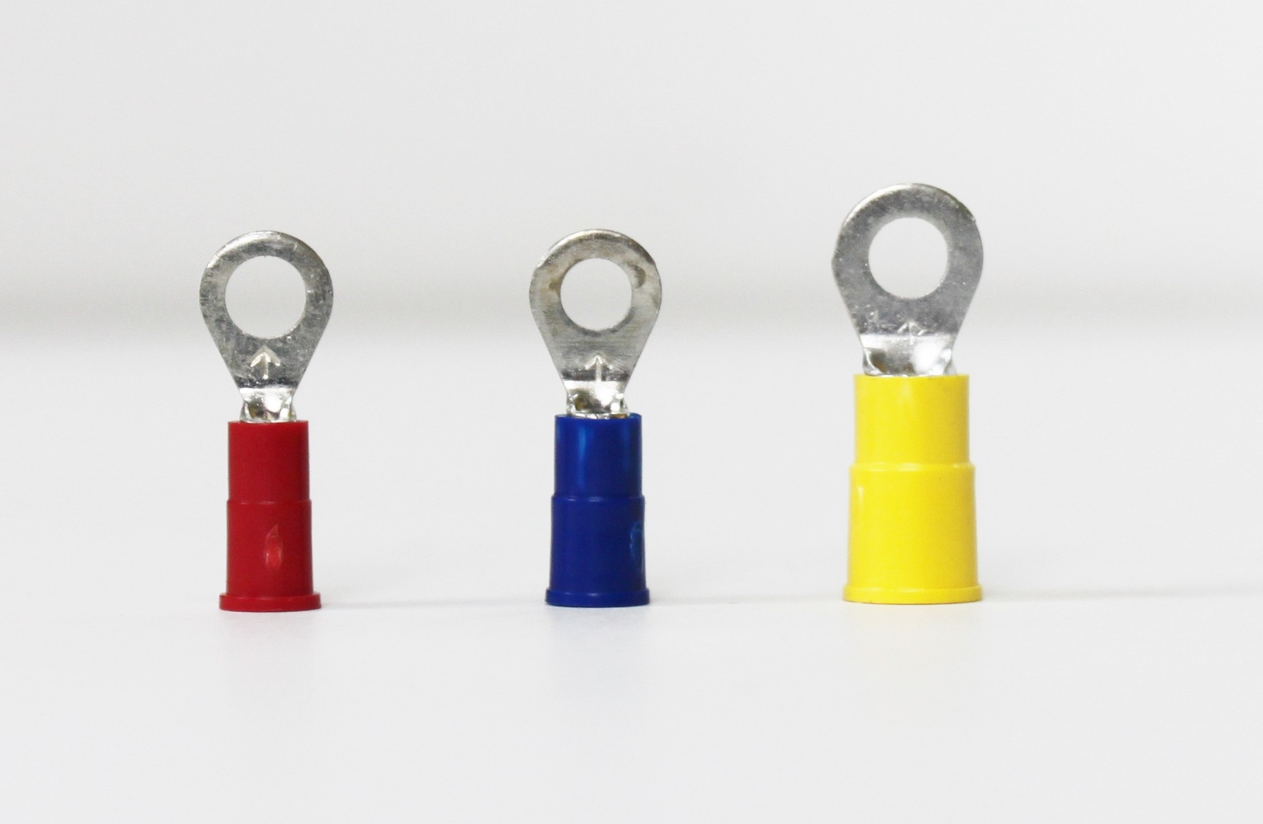 Vinyl Insulated Butted Seam Ring Terminals (22-18)