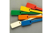 Compact Blank Flag Tie Markers-6""