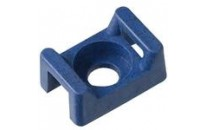 Polypropylene Metal Detectable Cable Tie Mounts