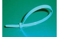 "14"" Metal Detectable Cable Ties-Teal (120 lb.)"