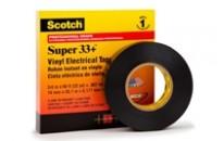 Scotch® Super 33+™ Vinyl Electrical Tape (100 Rolls/pkg)
