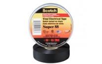 Scotch® Premium Vinyl Electrical Tape (100 Rolls/pkg)