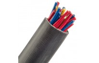 Superstretch Expandable Silicone Rubber Coated Fiberglass Sleeving (3 AWG)