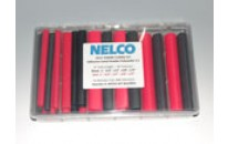 Heat Shrink Tubing Kit-3:1 Adhesive-Lined (Black & Red)