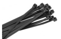 """7"""" Weather Resistant Nylon 12 Cable Ties (Standard, 40 lb.)"""