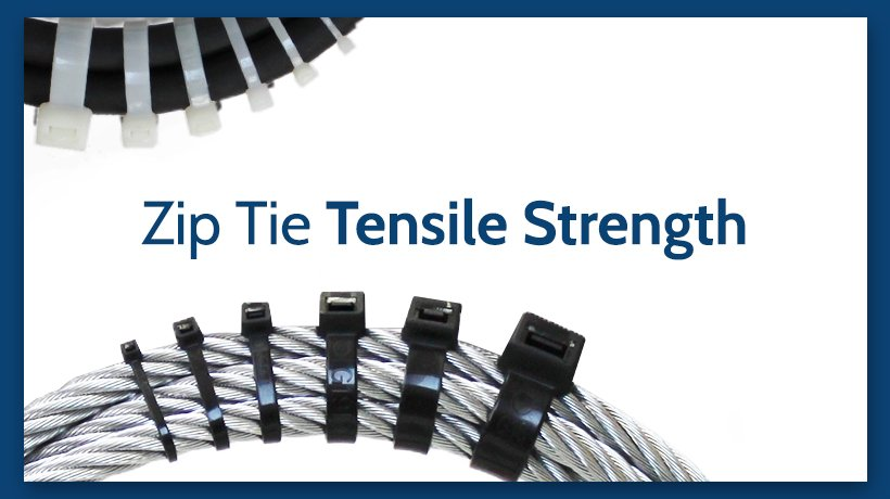Standard  Cable Ties Long and Wide Extra Large Zip Ties Heavy Duty
